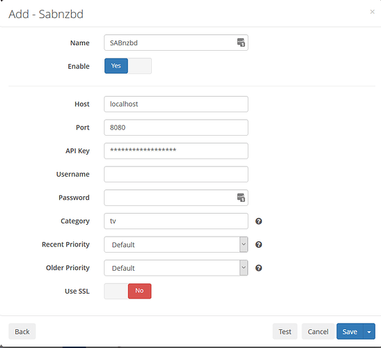 Newbie difficulty with Sonarr Setup (Synology, Docker