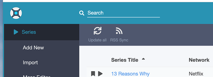 ADD SHOW BUTTON: the Radarr Improvement that Sonarr should