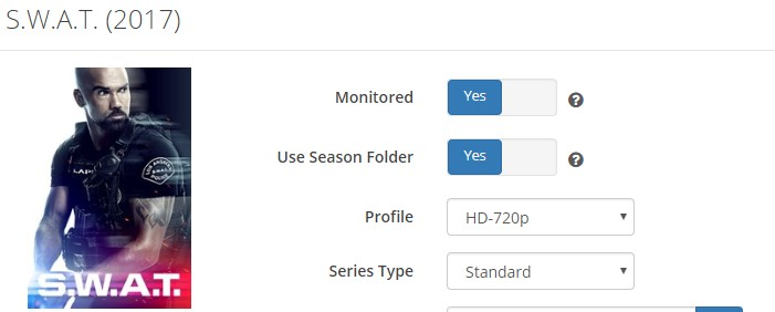 Monitorred TV show is unmonitorred in the Calendar - Help & Support